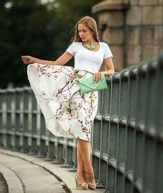 Sakura Midi Skirt – Lyfie