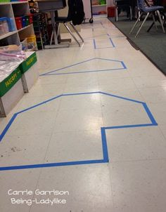 Being-Ladylike: Differentiating with Area and Perimeter