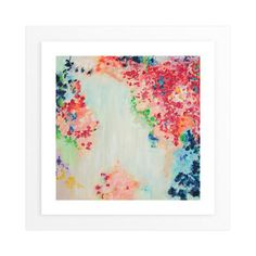 """""""Confetti"""" - Art Print by Blair Culwell Staky in beautiful frame options and a variety of sizes."""