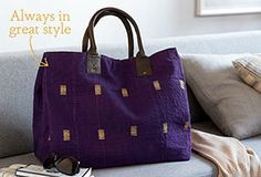 Give Something Special : One-of-a-Kind Totes by Karma Living