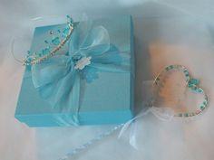Handmade Frozen Elsa wand and boxed Tiara  Fairy Tale fancy dress