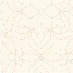 301-66912 Pearl Modern Floral - Charlotte - Kenneth James Wallpaper