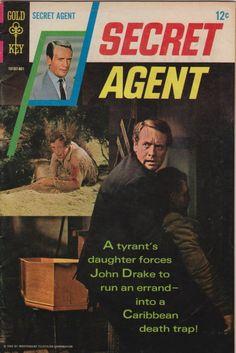 Secret Agent - Danger Man - Gold Key Comics