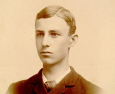 young Wilbur Wright -