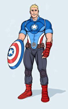Captain America Redesign | Captain America: Fighting Styles Winners!