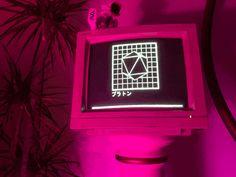 Vaporwave | Eternal_phase.gif | magenta, CRT, monitor, vector