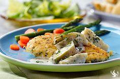 Chicken And Pasta With Lemon & Artichoke Sauce