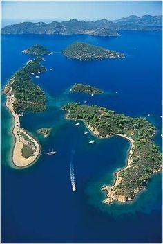Göcek Islands, Turkey
