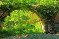 Light under a Bridge - Crete