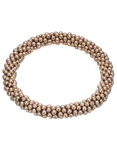 Bobble Stretch Bracelet   Gold   Accessorize