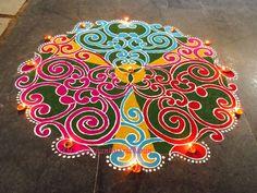 Rangoli by Shanthi Sridharan