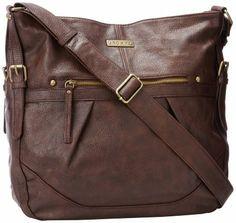 Amazon.com: Roxy Easy Breezy Shoulder Bag,Decadent Chocolate,One Size: Clothing