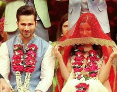 Varun and Alia getting married ..I hope it might come true someday