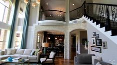 Southlake TX new construction homes by Toll Brothers®. Southlake Meadows offers 13 home designs with luxurious options & features. Learn more today! Foyer Staircase, Curved Staircase, Stairs, Morden House, Open Floor Concept, Design Your Own Home, Pool Sizes, Entrance Design, Built In Desk