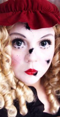 Makeup your Jangsara: Tutorial: Broken Doll