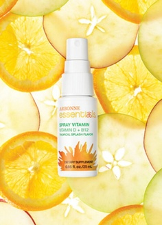 Now theres a new way to get your vitamin D & B12! Introducing the new Arbonne Essentials spray!