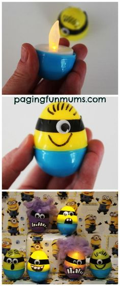 Glowing DIY Minion Craft