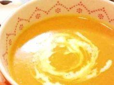 甘〜い♪かぼちゃのポタージュスープの画像