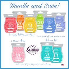New Bundles and prices as of Sept. 1st 2017 Scentsy Bars!! :)