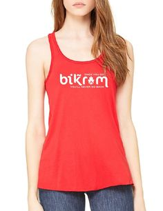 Once You Go Bikr*m You Don't Go Back - Ladies Flowy Tank