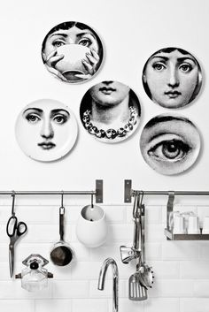 "thedesigncollector: "" Decor Inspiration: really love Fornasetti style! """