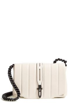 rag & bone rag & bone 'Mini Enfield' Quilted Leather Crossbody Bag available at #Nordstrom