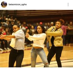 Beta Omicron Chapter of SGRHO! We see you!