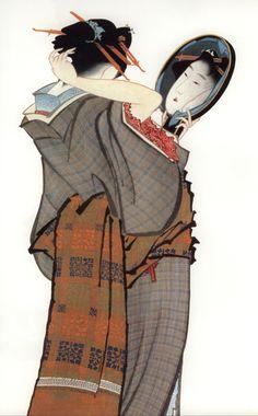 Painting 4 by Katsushika Hokusai about Japan Japanese Drawings, Japanese Prints, Japanese Woodcut, Culture Art, Japan Painting, Art Asiatique, Katsushika Hokusai, Japanese Illustration, Art Japonais