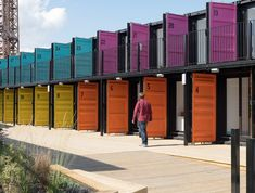The Estate Office Shoreditch has opened ContainerVille, a collection of 30 shipping containers that have been upcycled to create affordable workspaces...