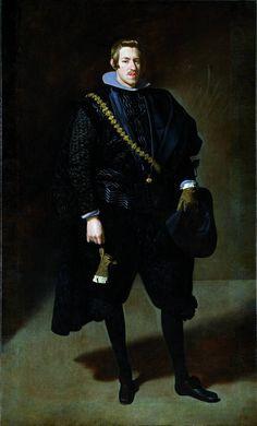 Museo Nacional del Prado: On-line gallery Velázquez, Diego Rodríguez de Silva y (Spanish) The Infante Carlos 1626-1627