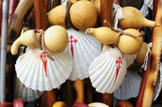 The story of the scallop shell is an iconic symbol of the Camino de Santiago, the way of Saint James, followed by pilgrims to Santiago de Compostela.