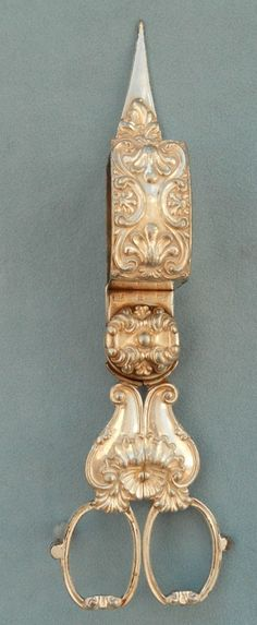 ANTIQUE CANDLE SNUFFER ~ BY GILBERT ~