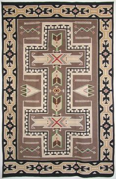 Teec Nos Pos textile c. 1940