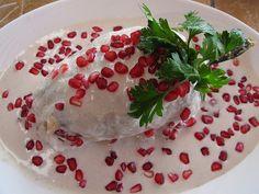 Chiles en nogada receta tradicional