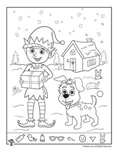 Christmas Coloring Pages Tons of FREE Christmas Printables, Coloring Pages, Activity Sheets, Crafts & Masks Christmas Colors, Kids Christmas, Christmas Crafts, Christmas Pictures, Christmas Games, Preschool Christmas Activities, Activities For Kids, Hidden Pictures Printables, Hidden Picture Puzzles