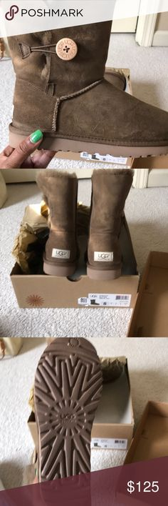 Ugg 's W Bailey button UGG Shoes Winter & Rain Boots