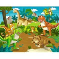 Papier peint Dinosaure 2