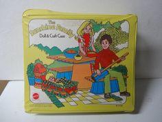 1976 Matel Sunshine Family Doll & Craft Case used #Dolls