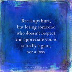 Sometimes a Breakup Is a Gain, Not a Loss