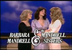Barbara Mandrell & the Mandrell Sisters TV show.On Nov 19980 it makes its premiere on NBC, with a special guest appearance by Dolly Parton. The show was the last successful variety show on network TV, with 40 million viewers. My Childhood Memories, Sweet Memories, Tv Show Games, Old Shows, Teenage Years, Old Tv, Show Photos, Classic Tv, My Memory