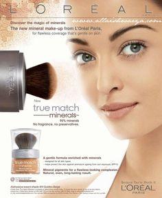 L'Oréal   Oreal Paris and L'Oreal Paris True Match Foundation Minerals ...
