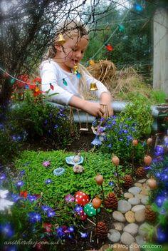 Kid Friendly Fairy Garden : Fairy Garden Contest : www.theMagicOnions.com