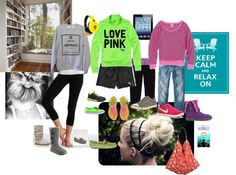lazy day, created by samantha-edlin on Polyvore