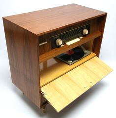 Mid Century Modern German Silva Console Record by thevintedgeco