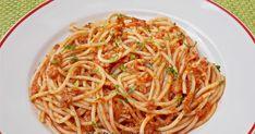Spaghete cu sos de carne tocata Ale, Food And Drink, Yummy Food, Ethnic Recipes, Pasta Carbonara, Food Ideas, Delicious Food, Ale Beer, Ales