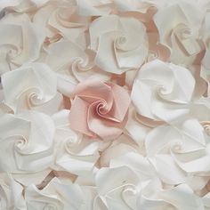 Moran Alhalel מורן אלחלל (@moran.alhalel) • Instagram photos and videos  Origami paper flowers - - Hand made - wedding decor.
