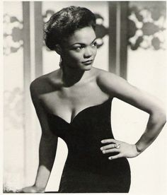 Eartha Kitt | Black Glamour & Grace #african_american #black_history #vintage More