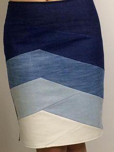 Coser la falda original de