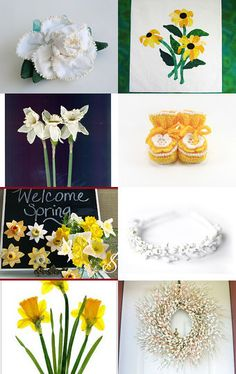 The Soft Side of Spring by Cindy Winfrey and Cheryl Dore on Etsy--Pinned with TreasuryPin.com