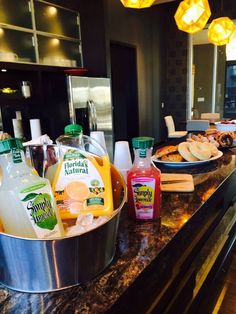 Starting the day off right! Stop in at the Clubroom for a midweek breakfast treat!